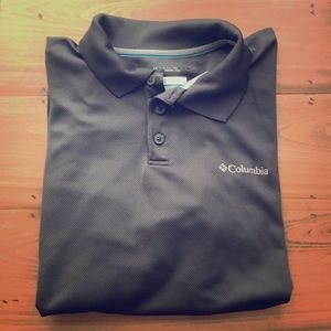 Columbia Polo- Gray- Large